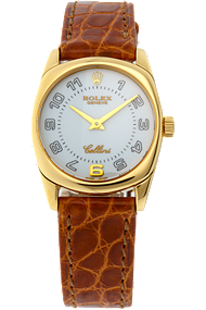 18K Yellow Gold Cellini Danaos Quartz at Tourneau