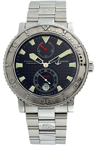 Stainless Steel Maxi Marine Diver Automatic at Tourneau