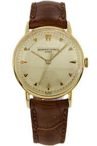 18K Yellow Gold Vintage Manual Circa 1968 at Tourneau
