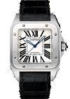 shop cartier watches - santos 100