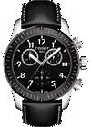 V8  Men's Quartz Watch - Black Dial With Black leather strap at Tourneau