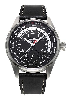 Alpina Startimer Pilot Manufacture Worldtimer AL-718B4S6