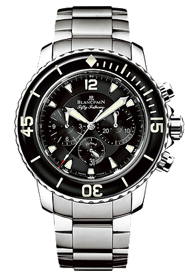 Blancpain Chronograph Flyback Fifty Fathoms watch