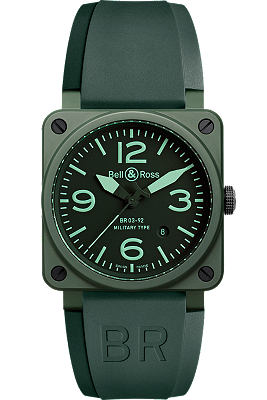 Bell & Ross Aviation Military Ceramic watch