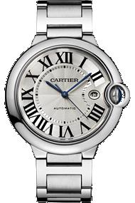 Ballon Bleu de Cartier - Large Model, Automatic, Steel at Tourneau
