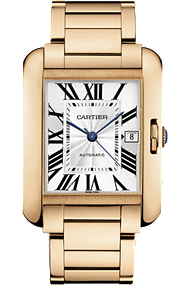 Shop Cartier Watches - Tank Anglaise, Large Model