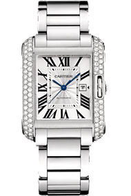 Shop Cartier watches - Tank Anglais