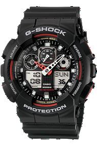 Casio Ana-Digi G-Shock watch at Tourneau