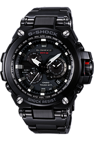 MT-G: Metal Twisted G-SHOCK | MTGS1000BD-1A at Tourneau