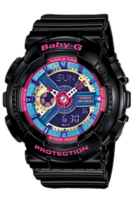 BABY-G LADIES WATCH BA112-1A