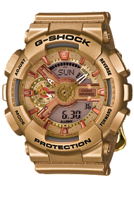 G-Shock S Series GMAS110GD-4A2
