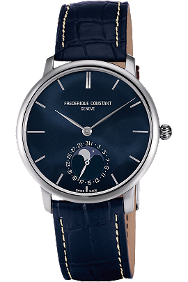 FC-705N4S6 Frederique Constant Slim Line Moonphase Frederick