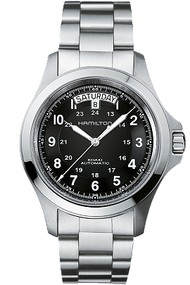 hamilton men's watch - khaki king