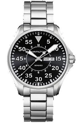 Hamilton Men's Watch - Khaki Pilot 42mm