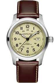 hamilton men's watch - khaki field auto 42mm