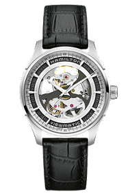 Hamilton Jazzmaster Viewmatic Skeleton Gents Auto | H42555751