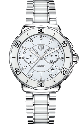 Formula 1 Steel, Diamonds and Ceramic Chronograph 41mm by Tag Heuer