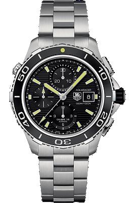Aquaracer 500M Chronograph at Tourneau