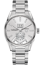 WAR5011.BA0723 Carrera Calibre 8 Grande Date GMT (COSC Certified)