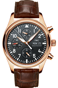 IWC Watch - Pilot's Chronograph in Rose Gold