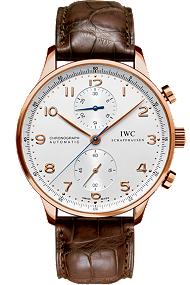 IWC Portuguese Chronograph 18K Red Gold watch