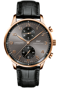 IWC | Portuguese Chronograph in Red Gold | IW371482