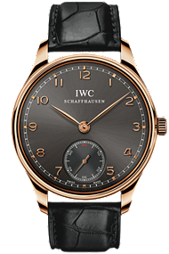 IWC Portuguese Hand-Wound 18K Red Gold watch