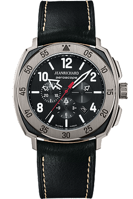 JEANRICHARD Aeroscope Black Dial | 60650-21F612HD60