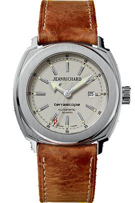 JEANRICHARD Terrascope Beige Dial | 60500-11-C01HDE0