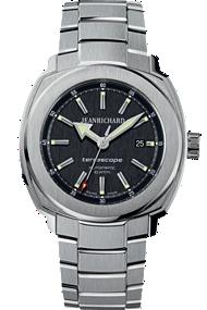 JEANRICHARD Terrascope Black Dial | 60500-11-601-11A