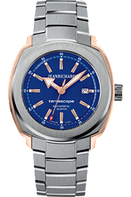JEANRICHARD Terrascope Blue Dial | 60500-56-401-11A