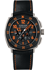 JEANRICHARD Aeroscope Black Dial | 60650-21I613HP60 at Tourneau