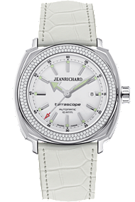 JEANRICHARD Terrascope White Dial |60500D11A701BB70