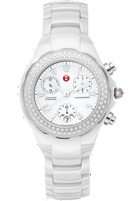 Michele Watches - Tahitian White Ceramic Diamond