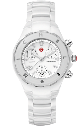 Michele Watches - Tahitian White Ceramic Non Diamond