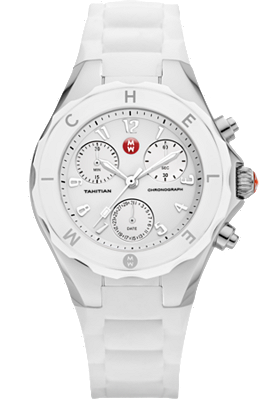 Michele Watches - Tahitian Jelly Bean Large White watch