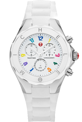 Michele Watches - Tahitian Jelly Bean Large Carousel White watch