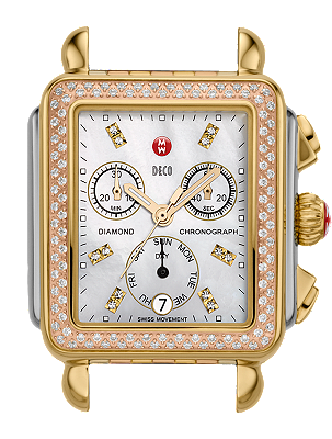 Michele Watches - Deco Day Diamond Tri Tone Diamond Dial