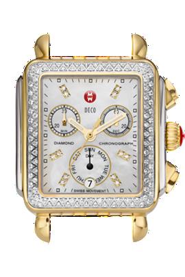 Michele Watches - Deco Day Diamond Bezel