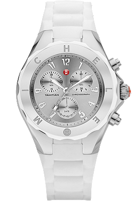 Michele Watches - Tahitian Jelly Bean Large White Silver Dial watch