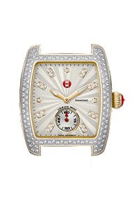Michele Watches - Urban Mini Diamond Two Tone watch