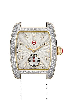 Michele Watches - Urban Mini Diamond Two Tone watch