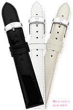 16MM Patent Leather Strap at Tourneau