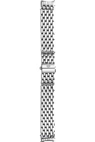 Cloette 7-link Stainless Steel Bracelet at Tourneau