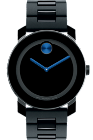 Movado BOLD™ black watch at Tourneau
