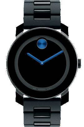 Movado BOLD™ black watch at Tourneau