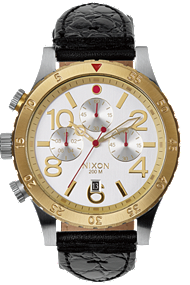 Nixon | The 48-20 Chrono Leather A3631886
