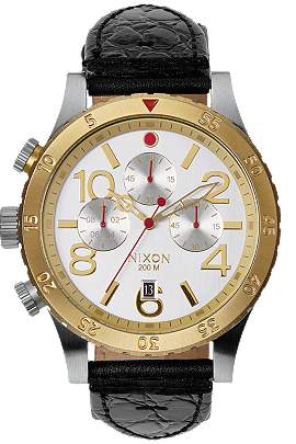 Nixon   The 48-20 Chrono Leather A3631886