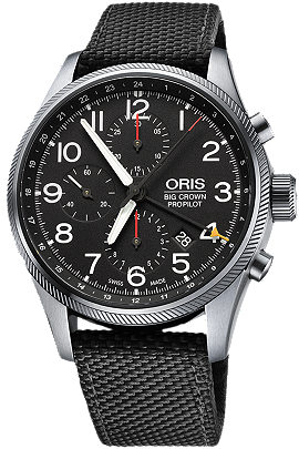 Oris Big Crown ProPilot Chronograph GMT 677 7699 4164
