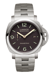 panerai luminor marina 1950 3 days automatic titanio watch